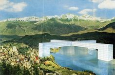Superstudio   Continuous Monument   1969