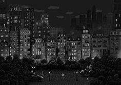 Sand City Illustrations   Abduzeedo Design Inspiration
