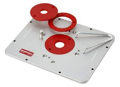 235mm x 120mm x 8mm aluminum router table insert plate for pre drilled for triton the cast aluminum router mounting plate from woodpeckers is the strongest stiffest router plate you can buy greentooth Choice Image