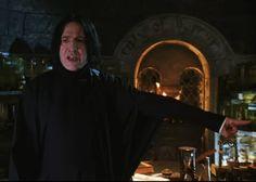 Professor Severus Snape, Harry Potter Severus Snape, Severus Rogue, Alan Rickman, Half Blood, Slytherin, Daddy, Prince, Boyfriend