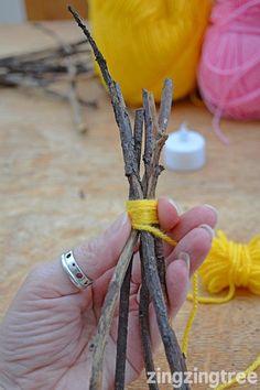 Yarn Teepee Craft