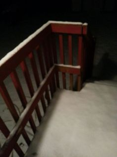 Snowing in Acworth, Georgia 6 Jan 2017
