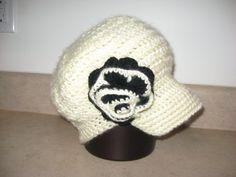 girls beret with brim