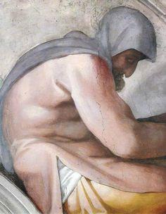 A moldura de Ezequias, Manassés e amon veio com frescos de Michelangelo buonarroti em 1508-1511 aproximadamente e faz parte da decoração das paredes da Capela Sistina nos museus do Vaticano em Roma. Foi realizada no âmbito dos trabalhos à decoração da vez, encomendado por Júlio II.