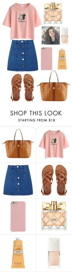 """""""T A G"""" by peiweishei on Polyvore featuring MCM, WithChic, Miss Selfridge, Billabong, Avon, Crabtree & Evelyn and Christian Dior"""