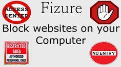 Block websites on your PC : Block websites via Host file