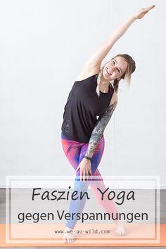 12 ejercicios efectivos de fascia yoga que alivian la tensión - Con 12 ejercicios simples, puede aflojar el tejido conectivo, aliviar la tensión y aflojar la fasci - Yoga Fitness, Fitness Workouts, Easy Workouts, Physical Fitness, Fitness Tips, Health Fitness, Fitness Models, Yoga Inspiration, Fitness Inspiration