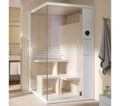 Welcome to QS Supplies the largest and influential supplier of showers. Available at QS this Duravit Inipi B Corner Sauna Super Compact measures 1175 x 1170mm.