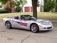 Corvette Police Car.