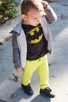 kids retro batman t shirt school fashion #cutekid