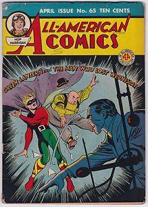 Golden Age Green Lantern | ... American-Comics-65-G-VG-3-0-Golden-Age-Green-Lantern-Dr-Mid-Nite-1945
