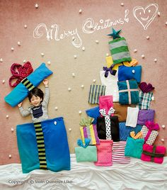 Present Christmas tree by 'Wengenn in Wonderland'