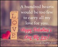 A hundred hearts would be too few Happy Valentine Images, Happy Valentines Day Pictures, Valentines Day Wishes, Sibling Quotes, Like You, My Love, Facebook Image, Sisters, Hearts