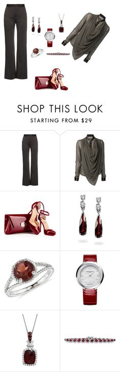 """#373"" by love-elegance ❤ liked on Polyvore featuring Bella Freud, UNCONDITIONAL, Fantasy Jewelry Box, Blue Nile, Baume & Mercier and Magnum"