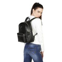 Sling Backpack, Leather Backpack, Notebook Sleeve, Summer Collection, Fashion Backpack, Backpacks, Zip, Shoulder Straps, Spring Summer