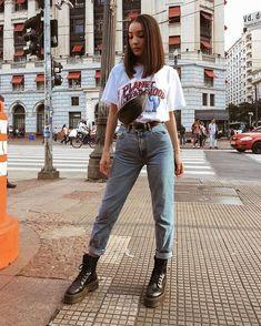 oufits made in the mentira, sou de 2000 // wearing lojalacodeluxo, zara, cea_brasil Mode Outfits, Retro Outfits, Cute Casual Outfits, Fall Outfits, Fashion Outfits, Hipster Outfits For Women, Summer Jean Outfits, Vintage Hipster Outfits, Edgy School Outfits