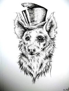 Hyenas | Tattoo | Pinterest | How To Draw, To Draw and Draw