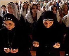 Syriac Orthodox Nuns celebrating Christmas 2011