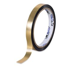 Shop Blick Metallic Tape - Gold, x 36 yds at Blick. Metal Tape Art, Gold Tape, Gold Foil, Design Tape, Tape Wall, Decoration Chic, Door Design Interior, Gold Spray Paint, Arts And Crafts Supplies