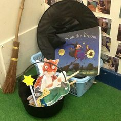 Room on the Broom Julia Donaldson story telling props.