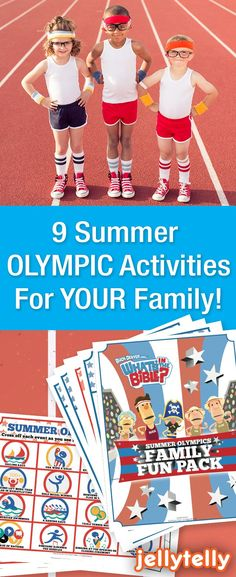 Watching the Olympics is a GREAT way to spend time as a family this August!   To help you make the most of this every-4-year tradition, we've created a super fun and FREE Summer Olympics Activity Pack for your whole family to enjoy!   Included in the pack you'll find a family calendar, bingo, Hebrews 12:1 Coloring Page, a Mom & Dad interview, create your own Olympic medal, and olympics memory sheet and more!