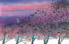 Uit Groter dan een droom van Jef Aerts, illustratie Marit Törnqvist