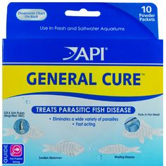 General Cure Anti-Parasitic Fish Medication treats a wide variety of parasitic diseases including; Parasitic causes of hole-in-the-head disease (Hexamita), Gill & skin flukes (Dactylogyrus spp.  http://www.americanaquariumproducts.com/pimafix.html#general