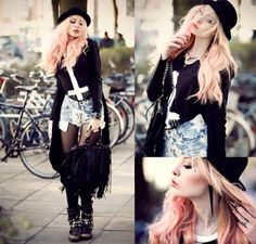 Love this Rock and Roll style!