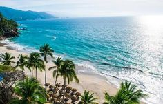 The unparalleled views of sparkling blue waters and majestic mountain landscapes at Hyatt Ziva Puerto Vallarta will take your breath away. Best Family Vacations, Secluded Beach, Modern Coastal, All Inclusive Resorts, Puerto Vallarta, Travel Bugs, Mountain Landscape, Coastal Homes, Mexico
