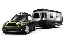 During World War II travel became a luxury that most could not afford. The Airstream has progressed to being one of the most well known trailers in the US. Mini made by BMW recently teamed up with Airstream to make a custom trailer to match a modified Mini Cooper. The combo was a fun with clean crisp design at heart. They were available in fresh colors and flower prints. The Airstream even had a built-in sun-bathing bed.