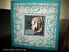 Follow me on my Art Journey: Art Journey Challenge # 23: Stitches