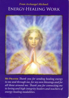 Archangel Michael is said to be God's right hand. He can help you let go of all those things, people, patterns, bindings that hold you in the past, but no longer serve you.