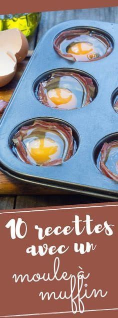 10 recipe ideas you never imagined with a muffin pan! - Discover our 10 recipe ideas that you would never have imagined with a muffin pan! Omelette Muffins, Delicious Burgers, Tasty, Yummy Food, Mole, Muffin Recipes, I Love Food, Cooking Time, Food Porn