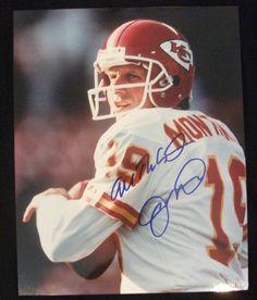 Signed Joe Montana Autograph 8x10 Photo NFL Football KC Chiefs w Proof | eBay