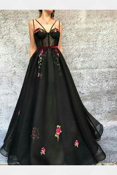 Prom Dresses Black #PromDressesBlack, Prom Dresses Long #PromDressesLong, Prom Dresses 2018 #PromDresses2018, Prom Dresses For Cheap #PromDressesForCheap, A-Line Prom Dresses #ALinePromDresses