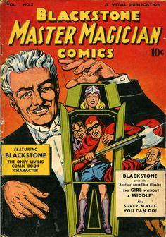 Comic Book Cover For Blackstone Master Magician Comics #2