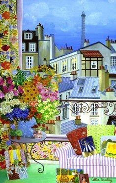 Celia Saubry ~ Love the Colors..Makes Me Happy