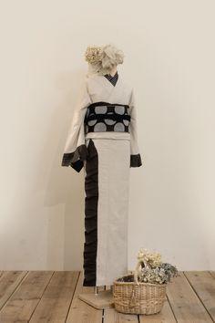 綿麻フリル着物 | 着物、浴衣 さく研究所