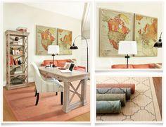 [get the look: gramercy home office]  I ballarddesigns.com