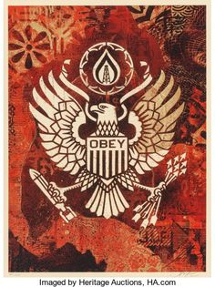 This is where Black Book Gallery releases high demand limited edition artwork. Shepard Fairey Prints, Mike Giant Prints and more! Shepard Fairey Obey, Obey Art, Stencil Graffiti, Art En Ligne, Galerie D'art, Rock Posters, Contemporary Artwork, Street Artists, Online Art