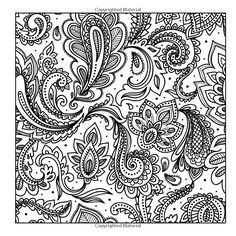 amazoncom adult coloring books a coloring book for adults featuring mandalas and paisley patternadult - Paisley Designs Coloring Book
