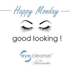 Happy Monday! Hope it's an awesome week. . #eyelashextensions  #lashes #lashsupplies #lashproducts #redeyes #blepharitis #eyecleanse #Chrissanthie
