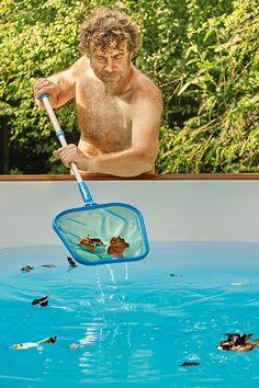 Bombenstimmung im eigenen Garten. Mit selbstgebauten Pools. Hier ...