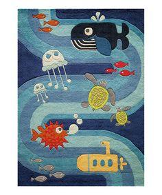 underwater themed rug