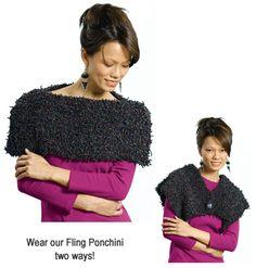 Fashion Fling Ponchini