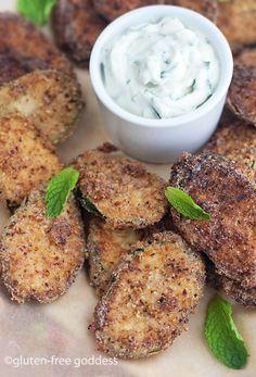 How to make homemade potato chips. Gluten-free and vegan, from Karina, Gluten-Free Goddess.