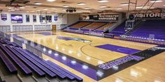 Gymnasiums can be a dime a dozen: wooden floors, brick walls, and plain bleachers. This describes most gymnasiums in the country. College Campus, Brick Walls, Wooden Flooring, Branding, Graphics, Gym, Wood Flooring, Brand Management, Parquetry