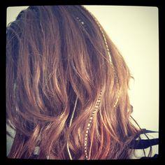 Feathered Hair
