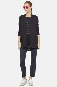 Akris punto Dot Embroidered Wool Cardigan available at #Nordstrom