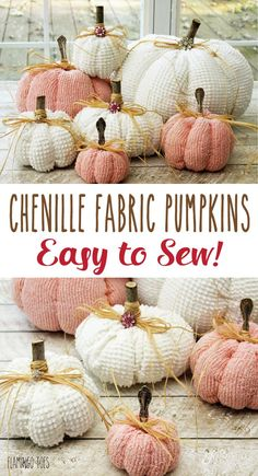 Chenille Fabric Pump